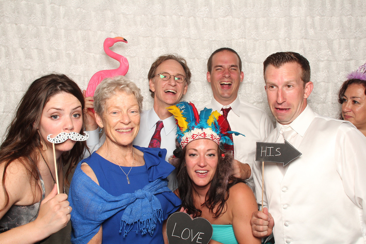 Matt & Emily Speedy's wedding at the Veranda in Saint Joseph Mi. Photo Booth by: Ben Pancoast Photography