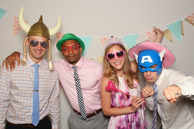 Photo Booth fun at Stephani & Bryan's wedding on August 16, 2014!  See all the photos at: www.Smile.BenPancoast.com